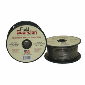 Field Guardian 15 Ga Aluminum Wire 150 Electric Fence Af15150 814421012517