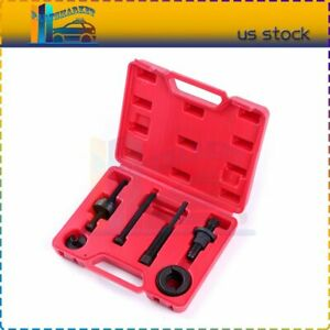 Power Steering Pump Pulley Puller Remover Install Tool Kit For Gm