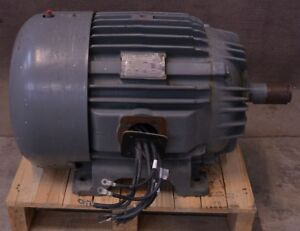 Siemens allis 50hp 230 460v Rgzgh Model 035 3 phase Electric Induction Motor