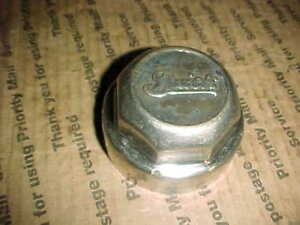 Vtg Approx 1924 1928 Buick Threaded Grease Dust Hub Cap White Brass Screw On