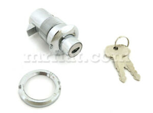 Fiat 1200 1500 1600 Spider Coupe Trunk Lock New Defective