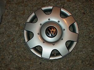 Vw Beetle 1998 1999 2000 2001 16 Hubcap Wheel Cover 1c0601147cgjw 61531 2