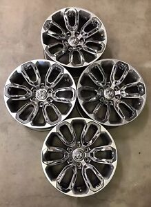 Set Of 20 Inch 2019 Dodge Ram 1500 Limited Oem Alloy 20x9 Wheels Rims 96188