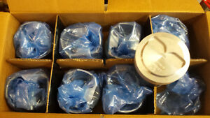 327 Chevy Forged Pistons Dome L2166nf 060 Over Set Of 8