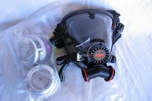 New Scott o vista Dual Filter Mask Size Large With The Filters Scott Nice