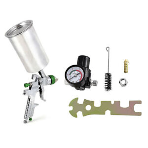 2 5mm Auto Car Primer Hvlp Gravity Feed Gauge Metal Flake Spray Gun Kit