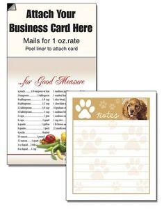 Things To Do Puppy Paw Magnetic Note Pads Business Card Notepads Scratch Pads