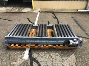 Powered Roller Pallet Box Conveyor 43 Inside W 103 Oal 230 460v