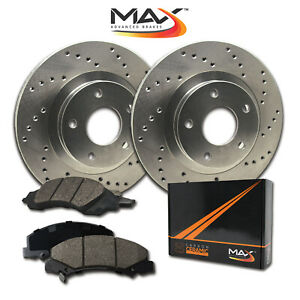 1998 Ford Contour Svt See Desc Cross Drilled Rotors W Ceramic Pads F