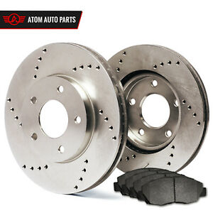 1998 Ford Contour Svt See Desc Cross Drilled Rotors Metallic Pads F