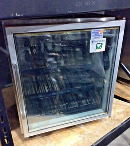 Silver King Skf27ag Commercial 1 Glass Door Undercounter Freezer