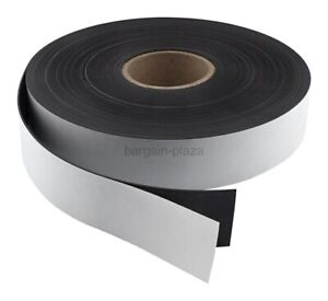 Master Magnetics Flexible Magnet Strip With Adhesive Back 1 16 Zg80a ax50bx