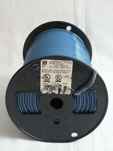 500 ft 10 awg Stranded Blue Copper Thhn Wire