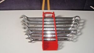 Matco Tools Long Wrench Set Sae 7 Piece 3 8 3 4 Open 12 Point Box Usa H5