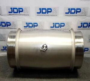 80 Gallon 304 New Stainless Steel Closed Head Wine Barrel