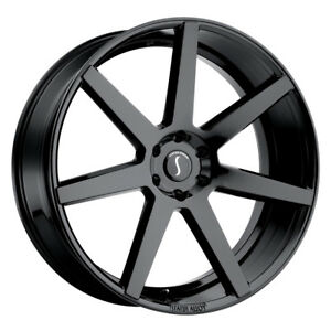 1 24x10 6 139 70 Status Journey Gloss Black Wheel rim 24 2410jur156140b08