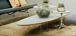 New Herman Miller Eames Elliptical Table New Without Box Never Been Used