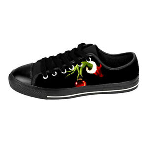 Custom Aquila Shoes For Kids And Adult The Grinch Shoes