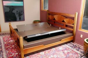 Heracles Fire Resistant King Bed Bunker Safe