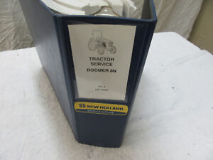 New Holland Boomer 8 N Tractor Dealer Shop Manual 854218897