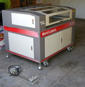 World Lasers Lr3624 Laser Engraving Cutting Machine