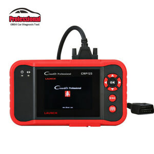 Launch Creader Crp123 Auto Code Reader Support Engine abs srs transmission Tool