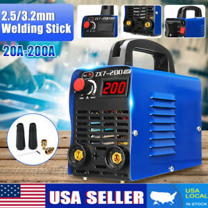 Zx7 200 Handheld Igbt Inverter Mma Arc Welding Mini Welder Machine 30 200a 220v