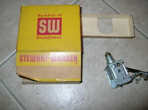 1957 Chrysler Nos Stewart Warner Replacement Speedometer Unit