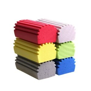 1 10pcs Car Washing Absorbent Pva Cleansing Sponge Kitchen Clean Rub Brush Tool
