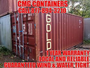 20 Ft Steel Cargo Shipping Storage Container Containers Mansfield Ma