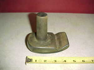 Vintage Unique Heavy Stake Auto Body Dolly Shop Hand Hammer Spoon Tool