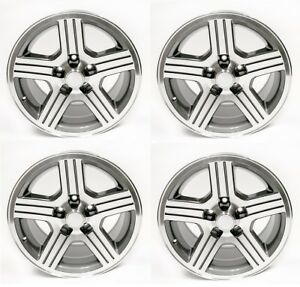 1988 1990 Camaro Iroc Z 17x9 Silver Gray Wheels Rims Set Of 4 Ht179irocz