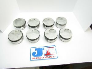 Je Gas Ported Sb2 Chevy Pistons 4 150 Bore Dragracing Ump Sbc