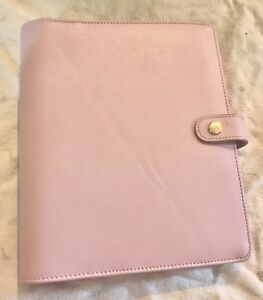 Kikki K Large Planner Binder Lilac Pink Limited Edition