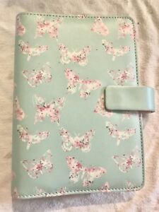 Filofax Personal Size Butterfly Organiser Planner Notebook Diary 022523 Gift