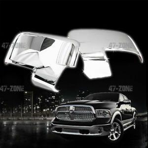 For 2010 Ram 2500 Chrome Mirror Cover With Turn Signal