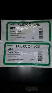 2 Flexco Hp1 30463 Power Punch Lacing Tool New In Packaging