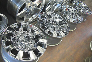 2011 2018 Gmc Sierra Denali 2500 3500 Hd 20 Factory Oem Chrome Wheels Rims 5704