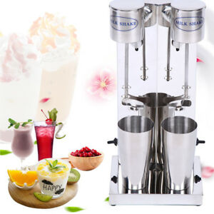Commercial Milkshake Maker Machine Mixer Frother 2 Cups Smoothie Blender 700ml