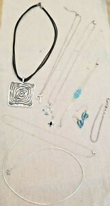 Lot Sterling Silver 925 Jewelry Not Scrap 51g Rising Sun Omega Michael Anthony