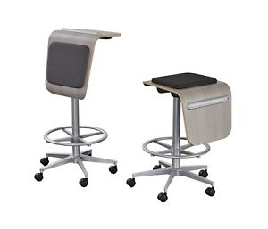 Inmovement Vero Seat stool And Standing Desk table 2 In 1 Ergonomic Made In Usa