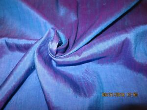 Early Vgt Duponi Iridescent Silk Fabric 38 Selvage Antique French Dol 38x10 1pc