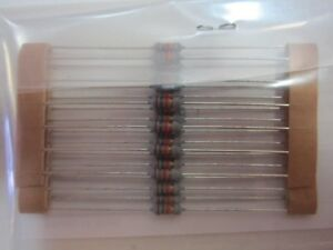 1000 Count Case Of Mitsubishi 66 18k Metal Oxide 18k Ohm 0 25 Watt Resistors New