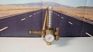 Harris 355 Flow Meter Regulator 3000 P s i g Argon Gas C02 Free Ship G8