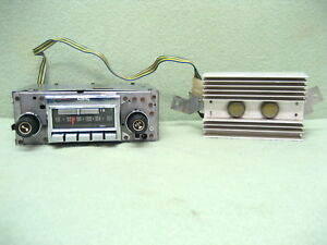 1972 1973 1974 1975 1976 Corvette Am fm Stereo Radio Clean And Works See Video