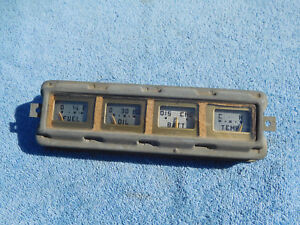 1946 1947 1948 Ford Deluxe Dash Gauge Cluster