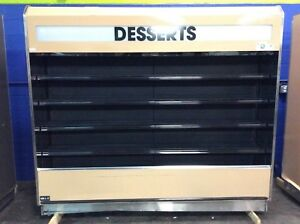 Barker 8 Open Air Refrigerated Multi Deck Grocery Display Case Cooler 2008
