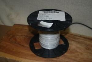 M81822 3 b22 9 Mil Spec Wire Silver Plated 22 Awg Solid Wire Pvdf 1000 Ft New