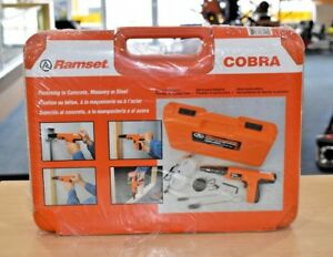Ramset Cobra Powder Actuated Fastener Tool Brand New Free Shipping