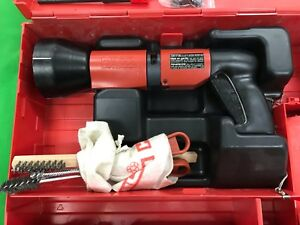 Hilti Dx 600n Heavy Duty Powder Actuated Nail Stud Gun Kit
